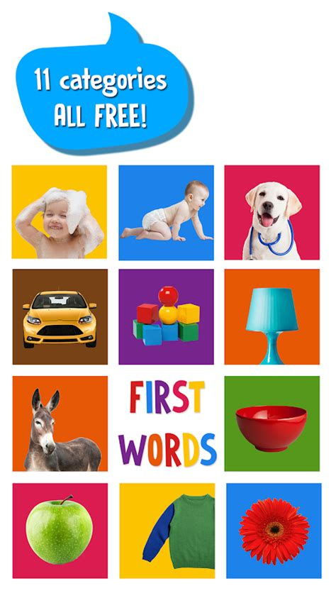 First Words For Baby  Android Apps On Google Play