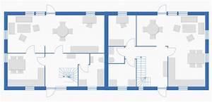 Grundriss Doppelhaushälfte Seitlicher Eingang : doppelh user mit profis planen sparen k uferportal ~ Markanthonyermac.com Haus und Dekorationen