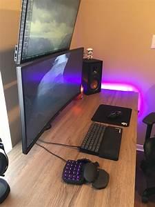Gaming Zimmer Ideen : pin von extremegaming auf gaming desk in 2018 pinterest arbeitszimmer technik und ~ Markanthonyermac.com Haus und Dekorationen