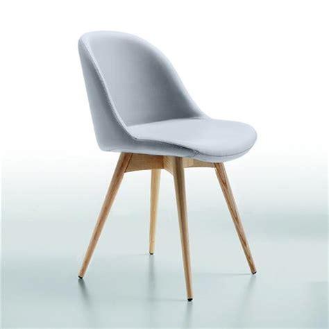chaise simili cuir gris maison design zeeral