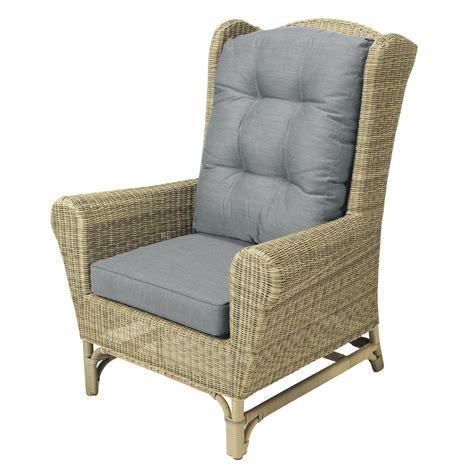fauteuil berg 232 re de jardin en r 233 sine tress 233 e rapha 235 l maisons du monde