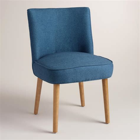blue edena dining chairs set of 2 world market