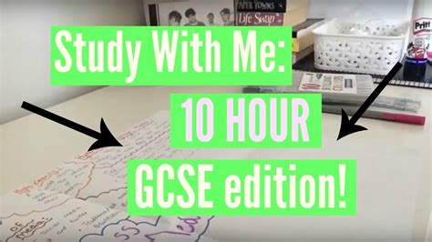 Study With Me 10 Hour Gcse Edition! Youtube