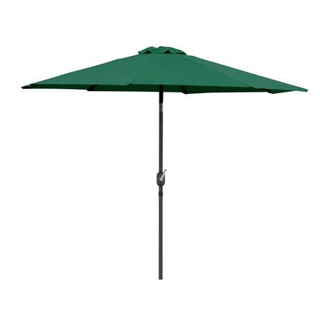 9 ft patio tilt umbrella crank market aluminium pool outdoor no flap ebay