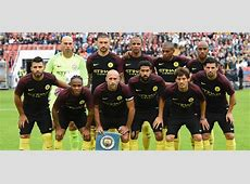 Manchester City submit 20man Premier League squad list