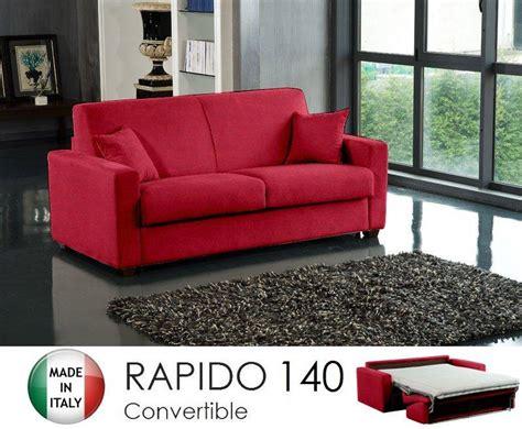 canape ouverture rapido 3 places dreamer convertible lit 140 190 14 couchage quotidien tweed