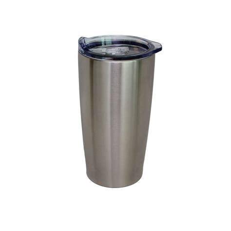 Double Wall Stainless Steel Tumbler  20 Oz NorChill
