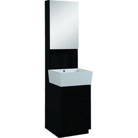 meuble sous vasque ludic sensea noir noir n 176 0 leroy merlin salle de bain ps