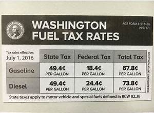 Know your Washington state gas tax: Stickers arriving at ...