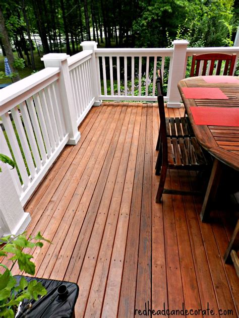 thompson s waterseal deck makeover can decorate