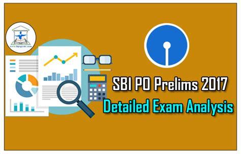 Sbi Po Prelims 2017 Detailed Exam Analysis 29th Apr  4th Slot Csslord