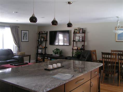 Split P Home Decor : Split Level Living Room Open Concept Kitchen