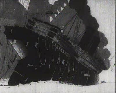 the sinking of the lusitania 1918