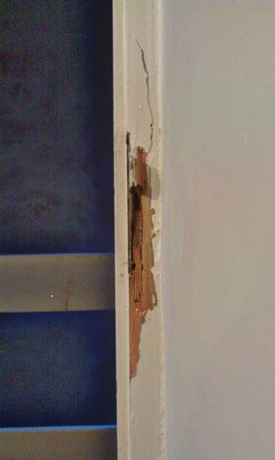 How Do I Repair A Broken Wooden Door Jamb?  Home. Spring Garage Door Repair. Cabnet Doors. Closet Door Switch. Colonial Doors. Door Charms. Garage Neon Clocks. Garage Door Keypad Replacement. Beveled Glass Doors