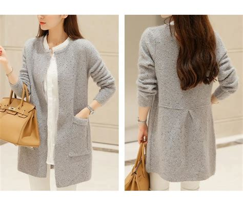 Women Cardigan Sweaters With Pockets