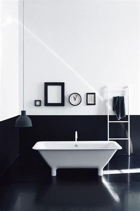 black and white bathroom salle de bains noir et blanc decoration for house
