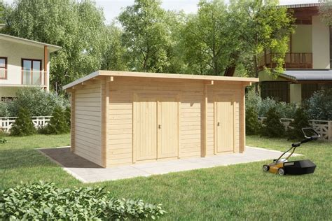 Garden Shed : Double Shed Type C / 44mm / 3 X 5 M