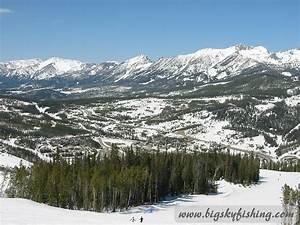 The Scenci Setting of Big Sky Resort in Montana