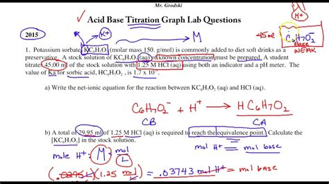 Worksheet Titration Problems Worksheet Grass Fedjp