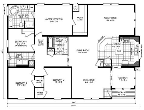 Clayton Mobile Home Floor Plans Photos by Wide Mobile Home Floor Plans From Clayton