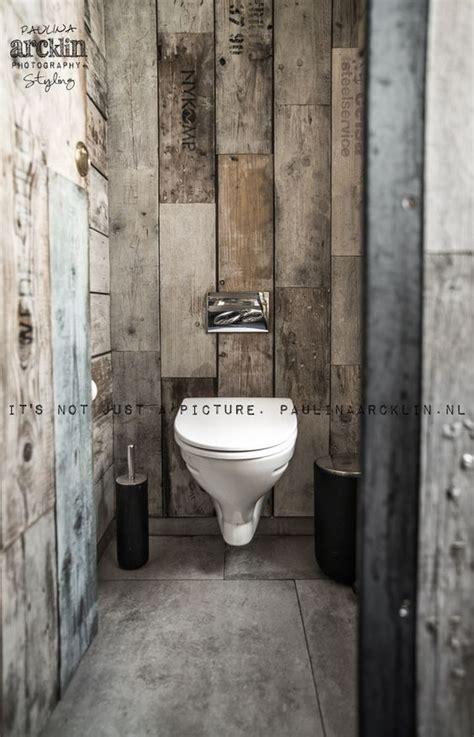 d 233 coration int 233 rieure wc toilettes papier peint trompe l œil illusion bois lambris gris