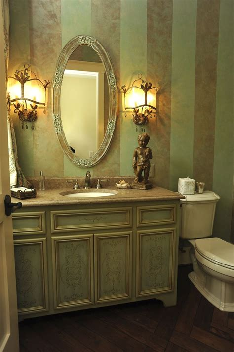 Hand Crafted Powder Room Vanity By Perfect Design