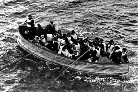 Titanic Collapsible Boat A by Titanic Lifeboats Titanic Facts