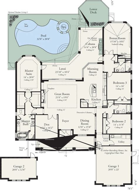 amelia 1124 traditional floor plan ta by arthur