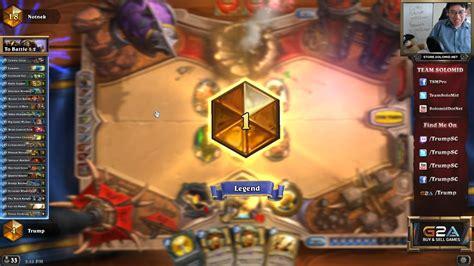 100 win rate priest deck rank 1 legend hearthstone decks