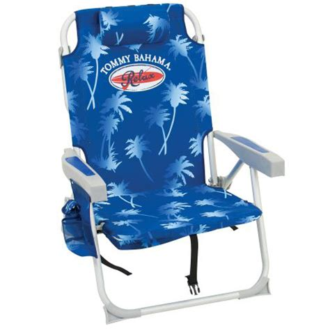 bahama backpack cooler chair blue palms backpack chairs beachstore