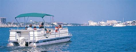 Ski Boat Rental Destin Fl by Pontoon Boat Rentals Destin Parasailing Destin Florida
