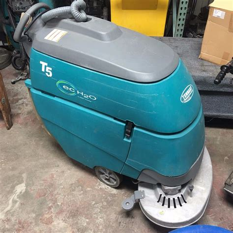 used tennant t5 28 quot disk floor scrubber with ec h2o buy
