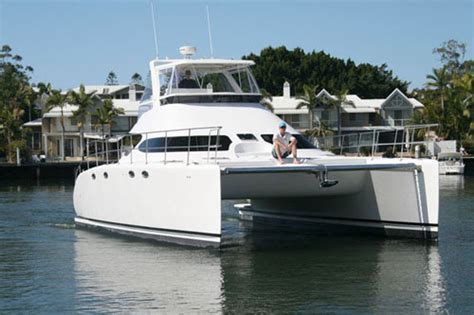 Catamaran 40ft Engine by Fusion Power Catamarans