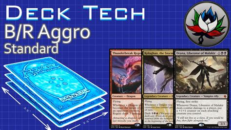 b r aggro standard deck tech battle for zendikar mtg