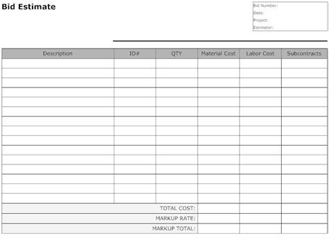 Business Form Templates Free