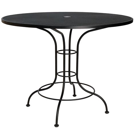 pictured is the mesh top 48 quot counter height bistro