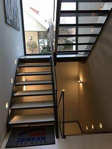 Halbgewendelte Treppe Mit Podest : podesttreppe panoramafenster musterhaus wohnen pinterest treppe treppenhaus und haus ~ Markanthonyermac.com Haus und Dekorationen