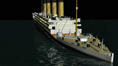 Titanic Sinking Animation 3d 3d titanic sinking animation hd