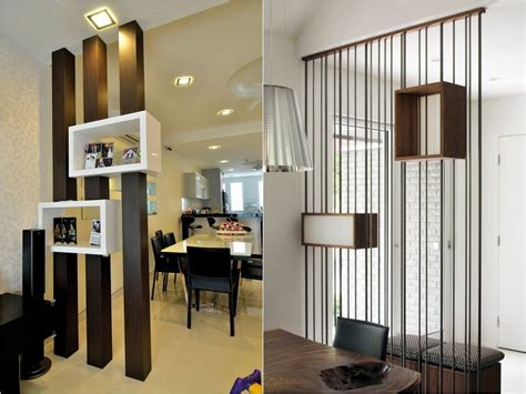 Turn One Room Into Two With 35 Amazing Room Dividers Small Kitchen Appliances Calgary Ideas For Shelves In Table Or Island Brown Beetles Interior Design Spaces Living Room And Rolling With Stools On A Budget White Breakfast Bar