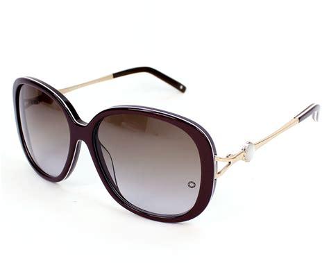 lunettes de soleil mont blanc mb417s 50f 59 visionet