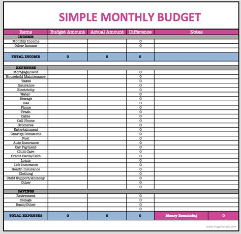 Monthly Budget Spreadsheet  Frugal Fanatic Shop. Hawaiian Flower Template. Free Printable Kids Invitations. Payroll Sheet Template Pics. Situation Action Outcome Examples Template. Sample Job Interview Thank You Letters Template. 3d Fish Template. Lesson Plan Template Download Template. Project Management Timeline Template Free Template