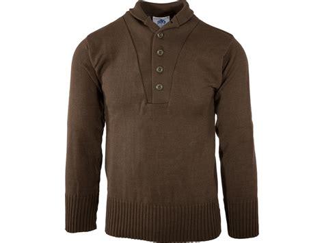 Military Surplus Sweater Wool