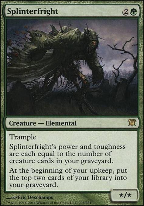 splinterfright isd mtg card