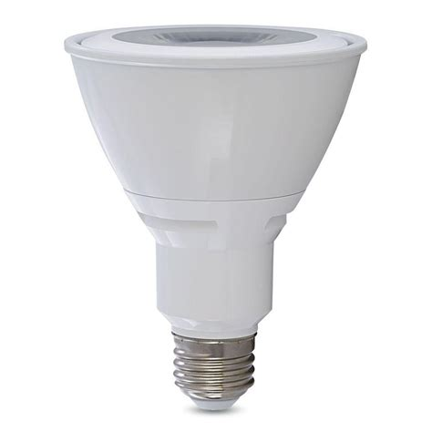 verbatim 75w equivalent warm white par30 led flood light bulb 98840 the home depot
