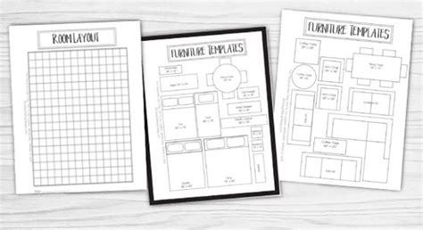 Printable Furniture Templates 1 4 Scale  Furniture Designs
