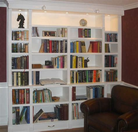 Built In Bookshelves  Built In Bookcases For Special And