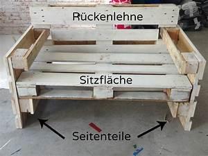 Bauanleitung Paletten Sofa : m bel aus paletten bauen anleitung ~ Markanthonyermac.com Haus und Dekorationen