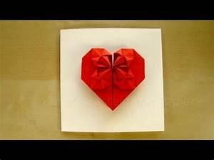 Weihnachtsgeschenke Für Mama Und Papa Selber Machen : geschenk basteln origami herz selber machen basteln mit papier diy geschenkideen youtube ~ Markanthonyermac.com Haus und Dekorationen