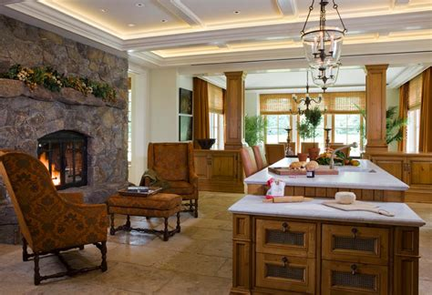 25 Fabulous Kitchens Showcasing Warm And Cozy Fireplaces Home Office Furniture Ideas For Small Spaces Rustic And Decor Stores Fargo Rent Staging Buy Model Room & Modular Collections