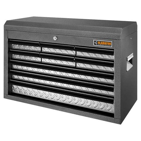 gladiator classic series 26 in w 9 drawer top tool chest